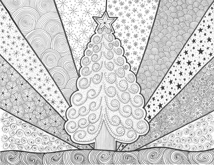 Des idées de coloriages pour patienter jusqu\'à Noël | Ma Vie de ...