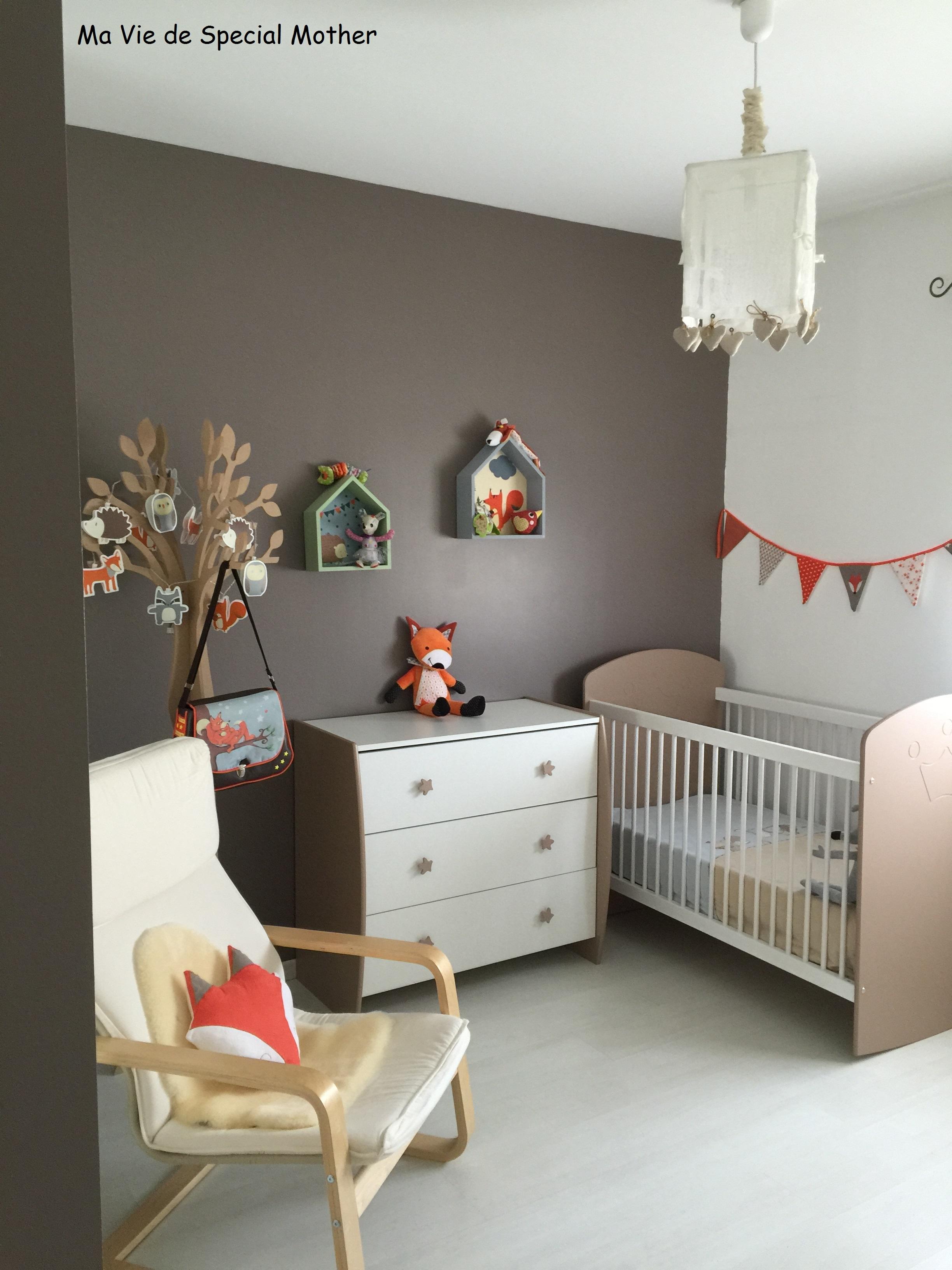 La chambre de petit papillon 2 me partie th me forest for Theme chambre enfant