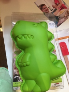 Moule à gâteau en silicone Dinosaure