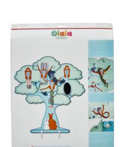 Catalpa, arbre magnétique mural