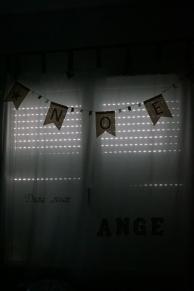 guirlande personnalisée Les P'tites Fées Dragées et Décos