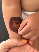 Tatouage éphémère Sioou Lion