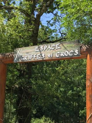 Espace griffes et crocs Safari de Peaugres