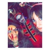 maquillage Halloween à Walibi Rhône-Alpes
